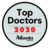 2020 Top Doctors Award by Atlanta Magazine